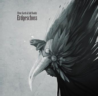 Matthias Derenbach #Illustration - Fleur Earth & Suff Daddy Erdgeschoss LP Cover