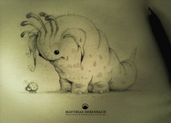 Matthias Derenbach #Illustration - the bugeater/sketch