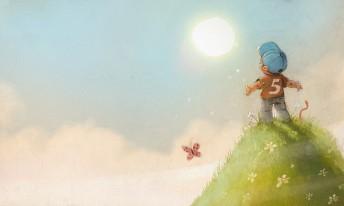 """Matthias Derenbach #Illustration - """"Der Sonne ist egal für wen sie scheint"""""""