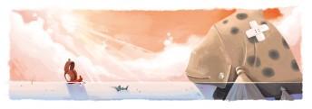 Matthias Derenbach #Illustration - Auszug Frieda Band 1 (www.topoli-verlag.de)