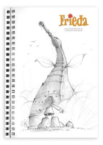 Matthias Derenbach #Illustration - Frieda/Sketch