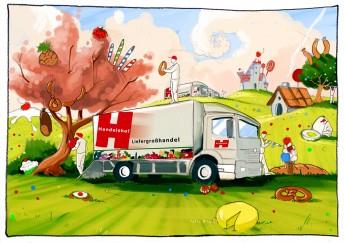 Matthias Derenbach #Illustration - Handelshof 2010