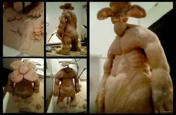 Matthias Derenbach #Illustration - Sculpting Friedas Pua Hocu Hihi
