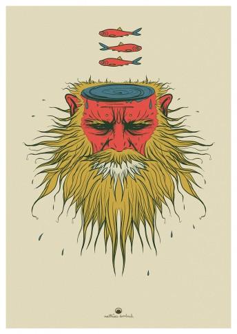 Matthias Derenbach #Illustration - dreigeheimnisvolleHeringe