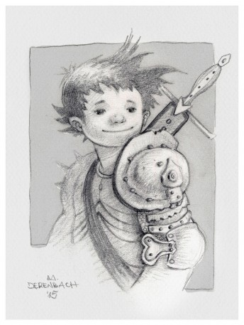 Matthias Derenbach #Illustration - little adventurer/sketch