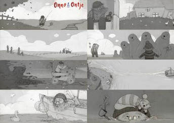 "Onno&Ontje Coppenrath Verlag/Thomas Springer ""Storyboard"""