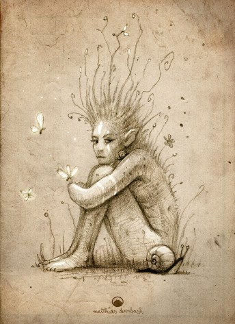 Matthias Derenbach #Illustration - melancholia/sketch